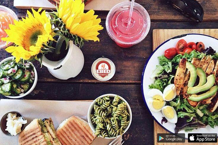 Jó reggelt! Közeleg az ebédidő! Ha még nem tudod hol ebédelj, töltsd le az ingyenes Ebédmenü alkalmazást a mobilodra és megtudhatod milyen menüket kínálnak a környékeden! #ebedmenu #gasztro #konyha #app