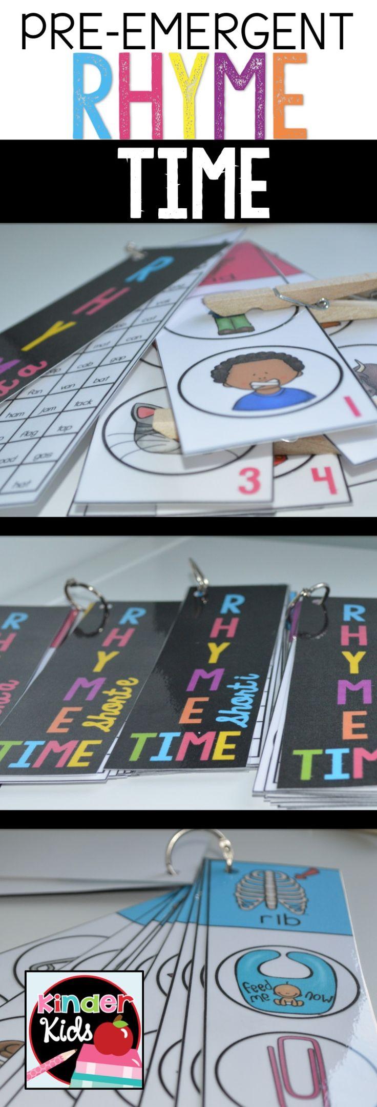 207 best Rhyming images on Pinterest | Kindergarten reading ...