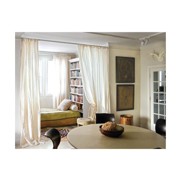 Cozy Sleeping Alcoves and Beautiful Bed Nooks found on Polyvore