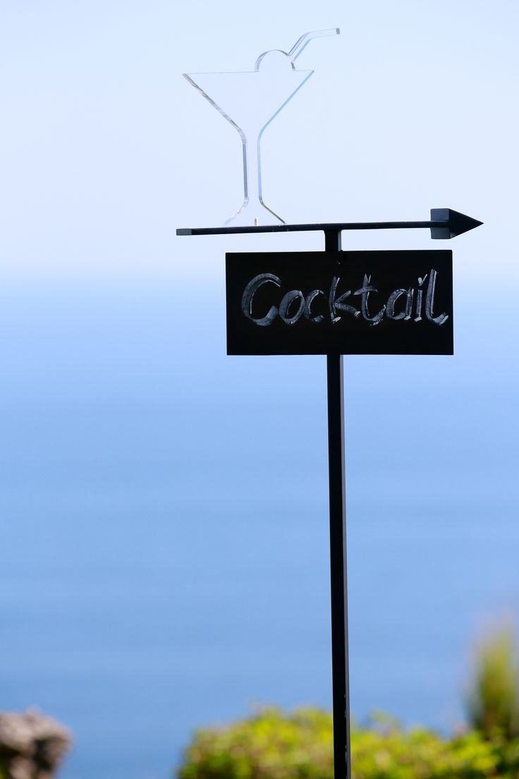 Signage of Cocktail by Tirtha Bridal Uluwatu Bali