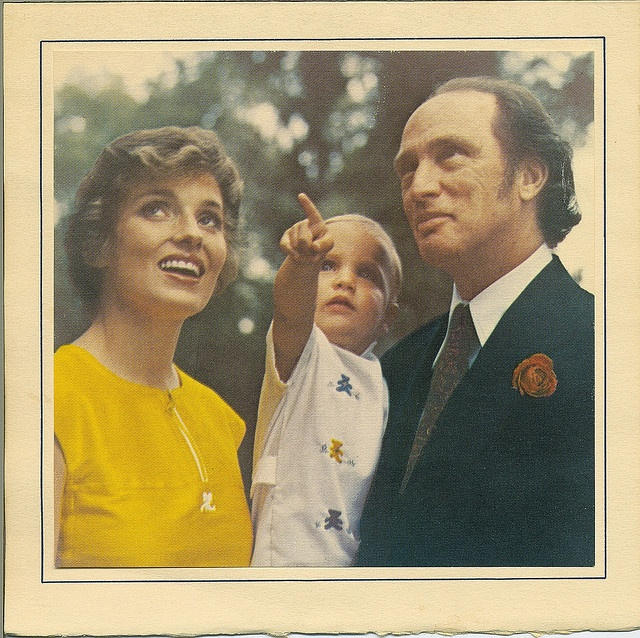 Pierre Elliott, Margaret and Justin Trudeau