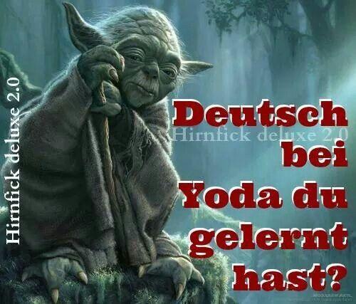 Lustige Meister Yoda Spruche Directdrukken