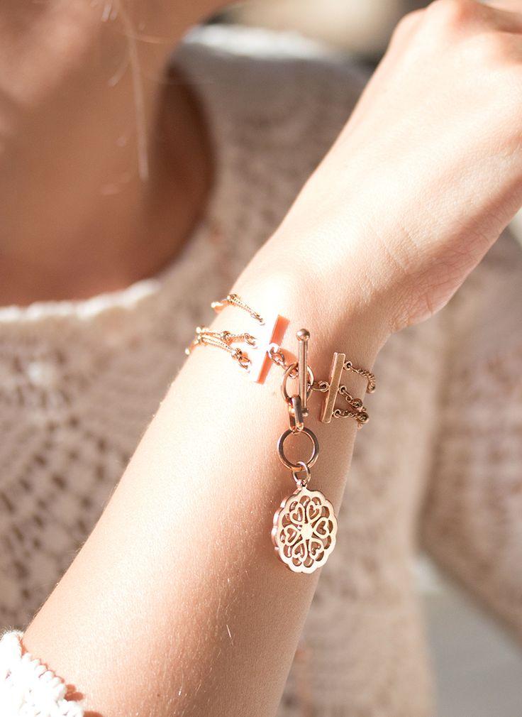 NEWONE-SHOP.COM I #rosegold #bracelet #armband #schmuck