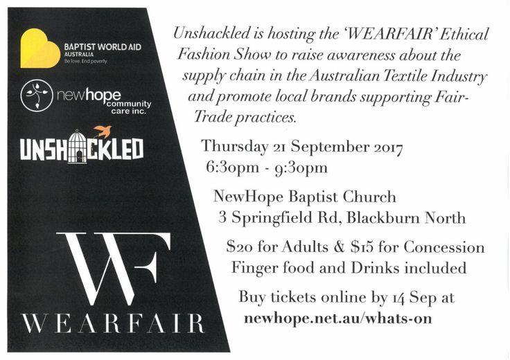 WearFair Ethical Fashion Show - I love to Op Shop