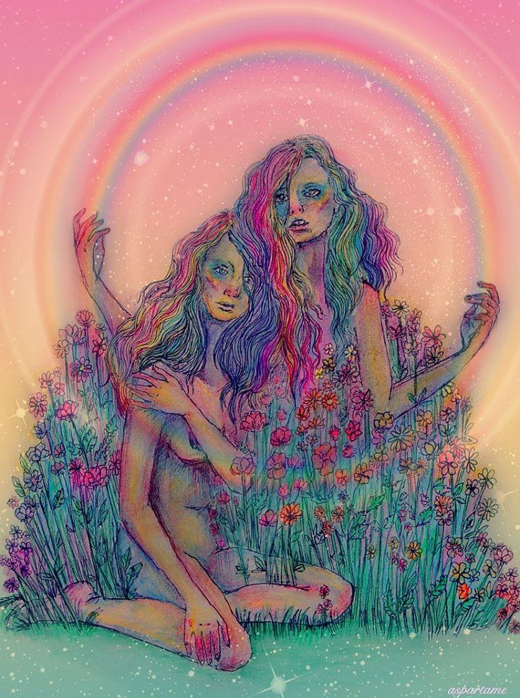 2 girls and tranny