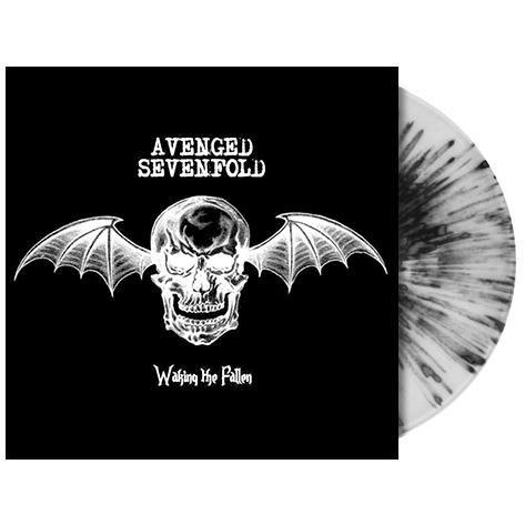"""Il secondo album degli #AvengedSevenfold intitolato """"Waking The Fallen"""" su vinile splatter bianco e nero in edizione limitata."""