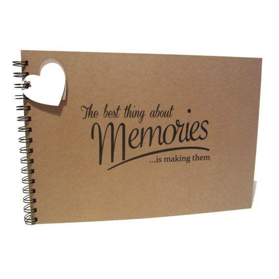 A5 A4 migliori ricordi Scrapbook pagine di carta di doodledah