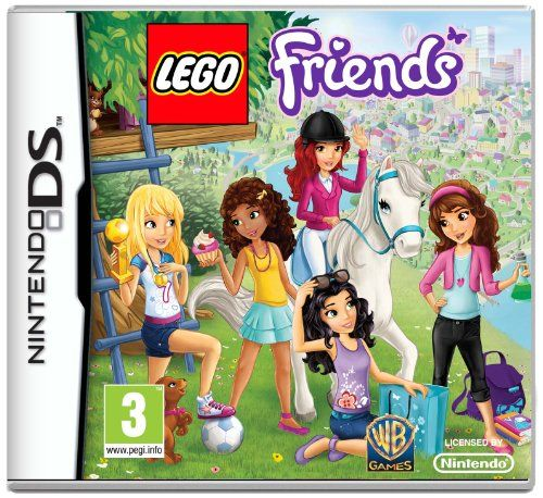 #PopularKidsToys Just Added In New Toys In Store!Read The Full Description & Reviews Here - LEGO Friends (Nintendo DS) - LEGO FRIENDS    Frequently Bought Together       +      +      +        Price for all: £28.80        This item: LEGO Friends (Nintendo DS) £11.99    TECHGEAR® Nintendo 2DS Hard Protective Carry & Storage Case Cover - For 2DS + Games + Accessories [PINK] £4.95    Moshi Monsters: Moshlings Theme Park (Nintendo DS) £3.24    Disney Fair