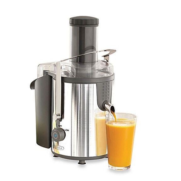 NEW Bella 13694 High Power Stainless Steel Juice Extractor 1000W Juicer #Bella