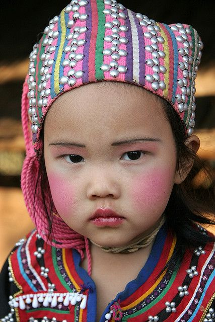 Lahu Child from Northern Thailand