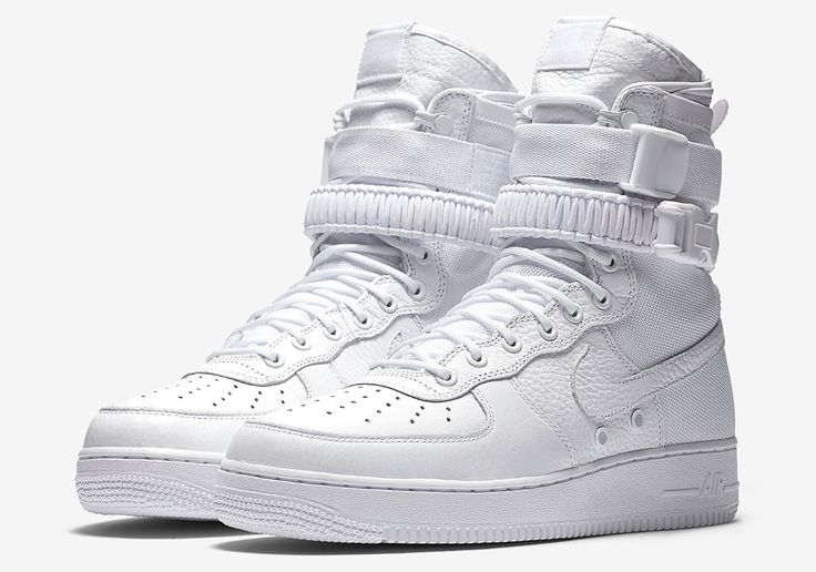 "Missed out on the exclusive release of the coveted Nike SF-AF1 ""Triple White"" at ComplexCon? Then listen up, because you have another change at the stylishly militaristic new edition of the Air Force 1 in the pristine all-white colorway. But … Continue reading →"