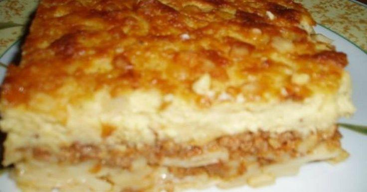 Εξαιρετική συνταγή για Παστίτσιο υπέροχο. Υπέροχο παστίτσιο που έχει περάσει από γενιά σε γενιά! Συνταγή της γιαγιάς, της μαμάς, δική μου και τώρα δική μας! Recipe by stroumfita