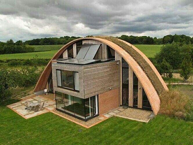 Passive eco home, Weald, UK