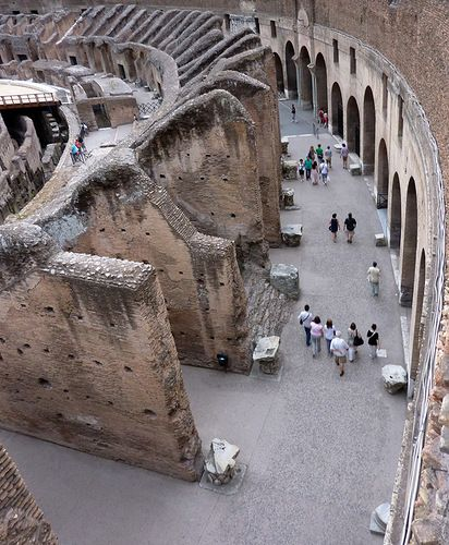 Rome. Inside the Colosseum // by carambola,Rome, province of Rome, Lazio region Italy