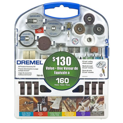 dremel 160-pc rotary tool accessory kit $30 lowes i love my dremel ...