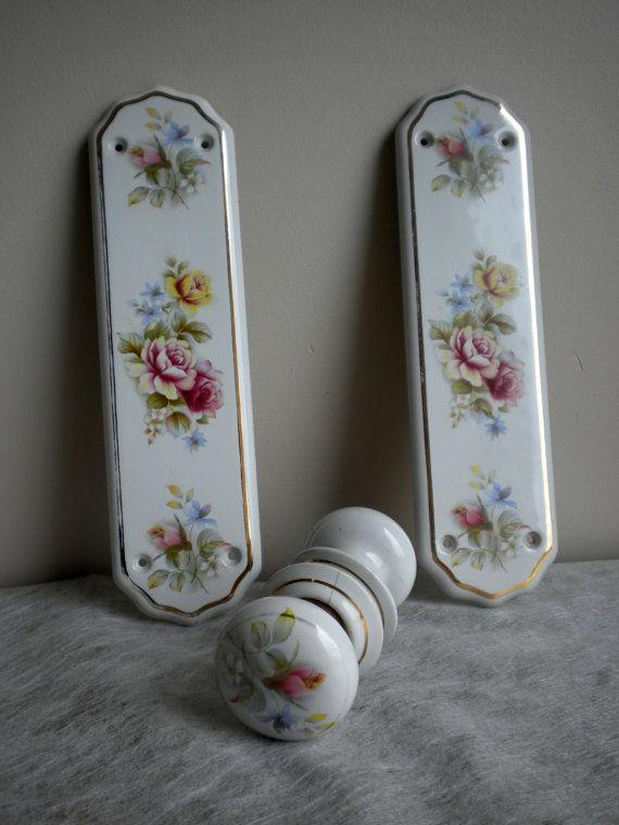 76 best Vintage Porcelain Door Knobs images on Pinterest
