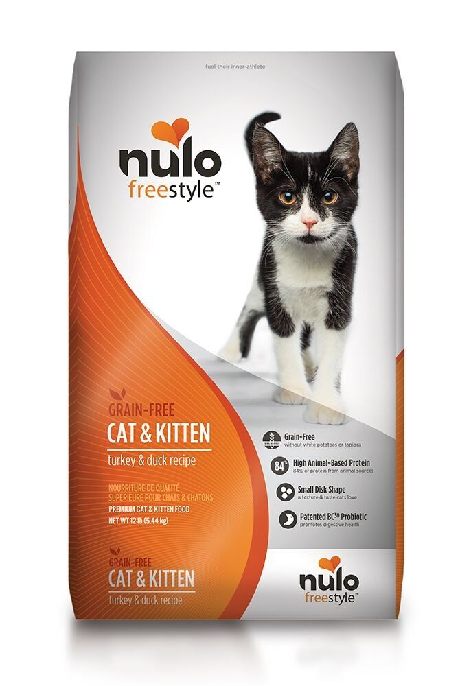 Nulo Grain Free Dry Cat Food With Bc30 Probiotic Turkey 12lb Bag To View Further For This Item Visit The Image Link This Is An Affiliate Link And I Receive Co