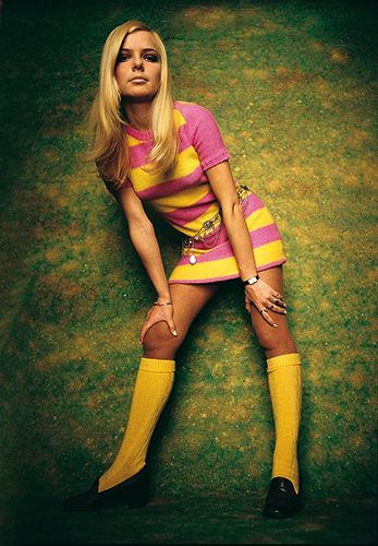 France Gall by Jean-Marie Perier, Paris 1968