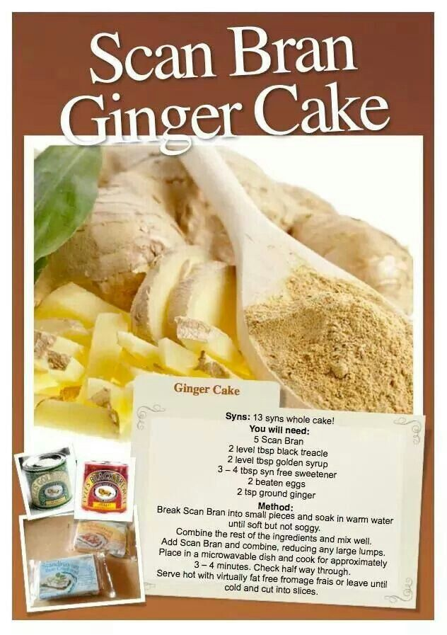 Scan Bran Ginger Cake