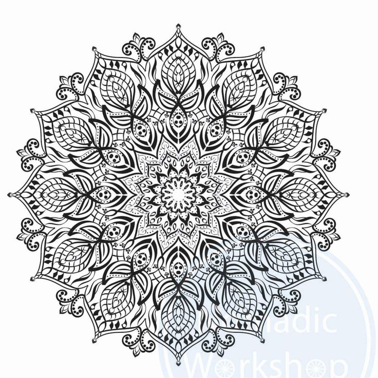 Mandala 1 FREE Coloring Page For Adults Adult Pages Printable Sheetscolouring Handmade