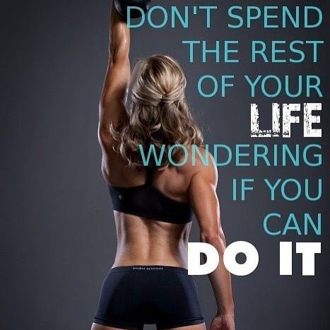 Hundreds of motivational gym quotes here: http://ift.tt/1QMsdCV