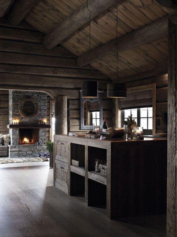 Une cabane traditionnelle en Norvège - PLANETE DECO a homes world