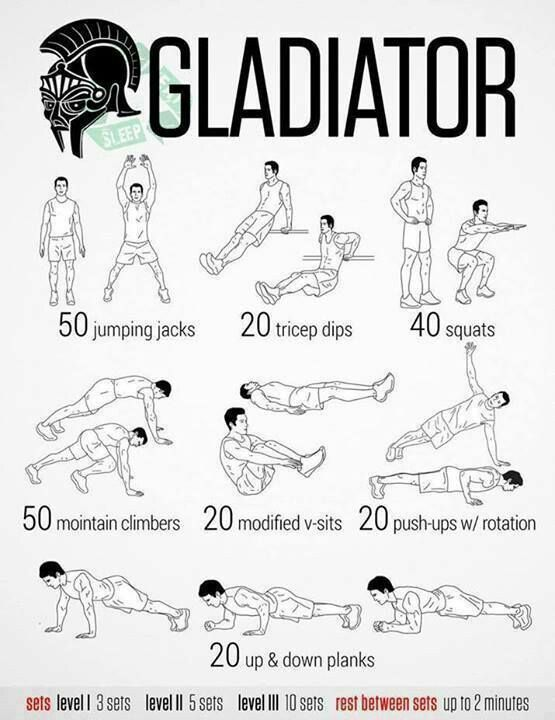 Gladiator *Cardio* Routine
