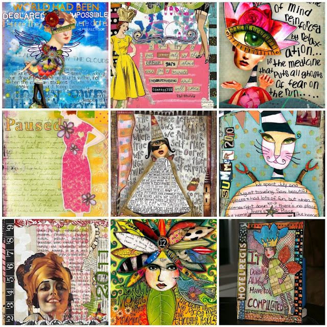 Why Art Journal?   Read on.....