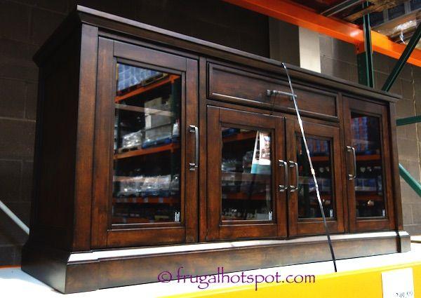bayside furnishings brockport u tv console costco with tv lift cabinet costco