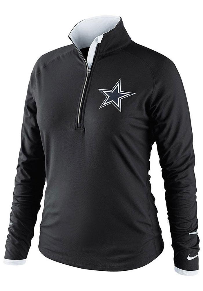 Dallas Cowboys Womens 1/4 Zip Pullover - Black Cowboys Conversion Long Sleeve Pullover http://www.rallyhouse.com/shop/dallas-cowboys-4102897?utm_source=pinterest&utm_medium=social&utm_campaign=Pinterest-DallasCowboys $65.00