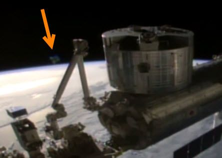 Watch: NASA Cuts Int'l Space Station Live Feed as Horseshoe UFO Appears over Earth's Horizon | The Daily Sheeple