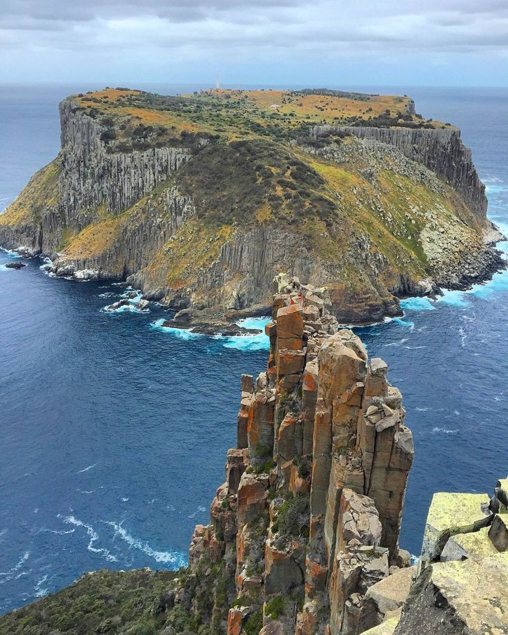 Walking the Three Capes Track in Tasmania