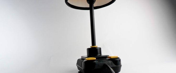 Original c-64 joysticks merge with simple IKEA lamp and form a new concept. - See more at: http://leketoys.no/portfolios/fun-light