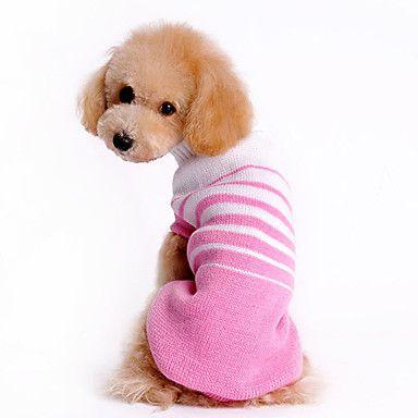 Zweet Zebra Warm katoenen trui met inklapbare halsband voor Huisdieren Honden (verschillende maten) – EUR € 8.59