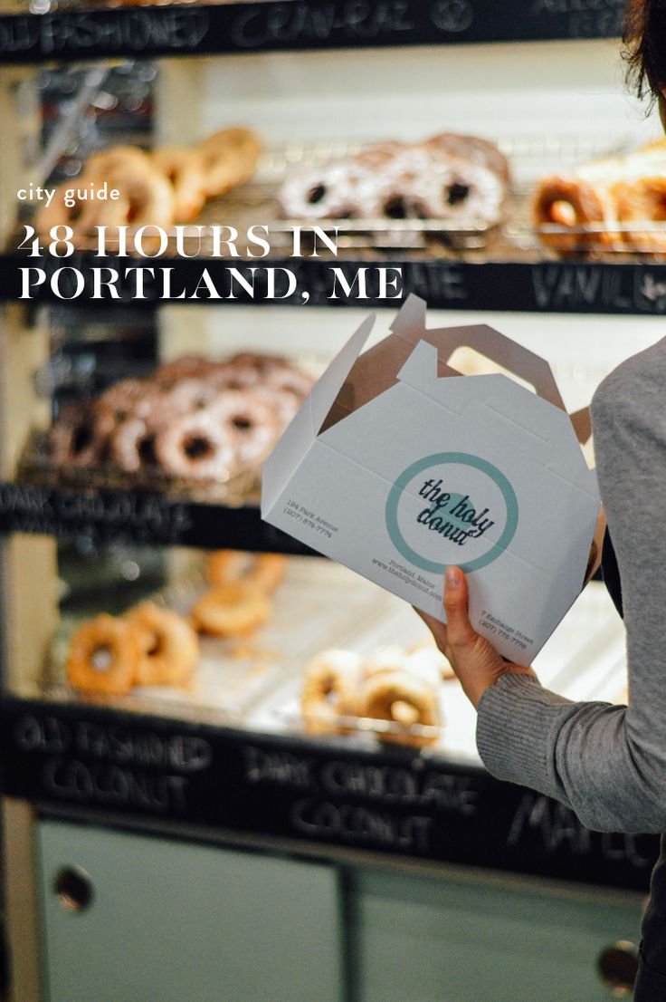 City Guide: How to spend 48 hours in Portland, Maine // by gabriella @gabivalladares