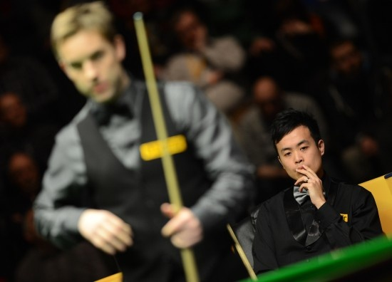 Ali Carter 9-6 Marco Fu, Finals, Betfair German Masters Snooker 2013