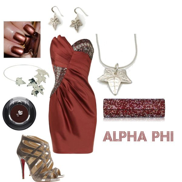 Alpha Phi colors! This is fantastic.