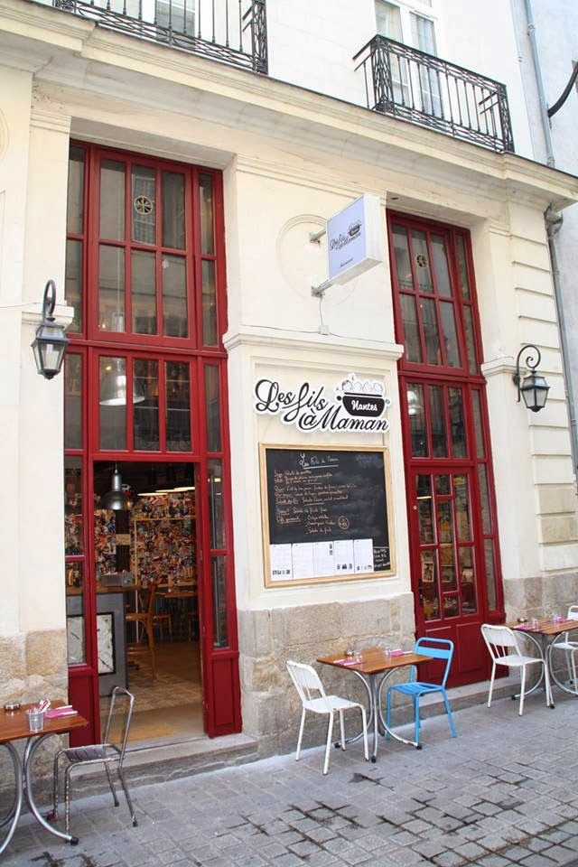 Le restaurant Les  fils à maman #restaurant #nantes