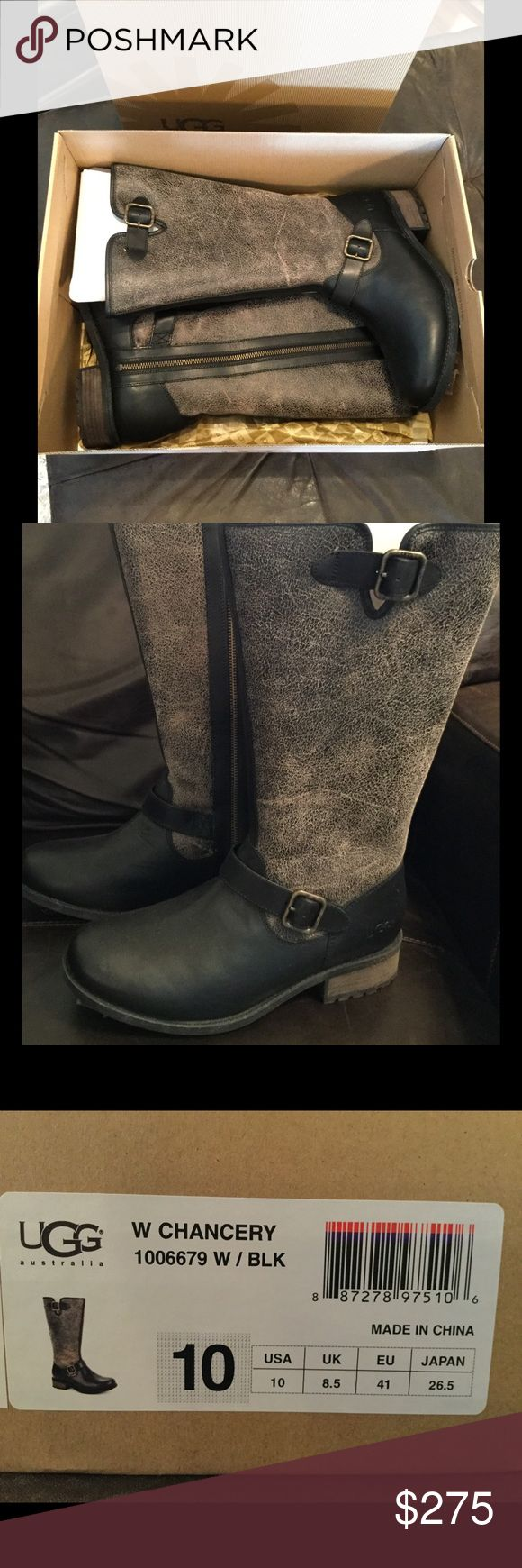 """NIB!! UGG """"Chancery"""" Boots. Women's Sz 10 UGGS BRAND NEW IN BOX!!! Women's UGG'S Sz 10. These are in perfect condition. They are the UGG """"CHANCERY"""" Boots. Great for Fall & Winter. 100% Authentic. Comes with box UGG Shoes Winter & Rain Boots"""