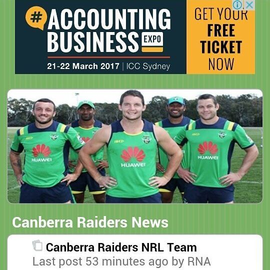 #NRLCowboysRaiders check out the Raiders.net.au site for the latest news and vie...