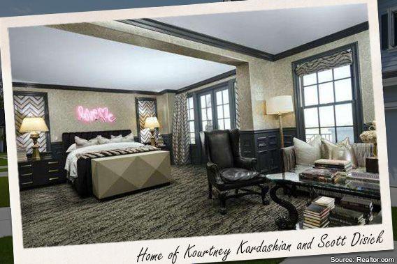 Celebrity House For Sale Kourtney Kardashian Bedrooms Real - Kourtney kardashian bedroom furniture
