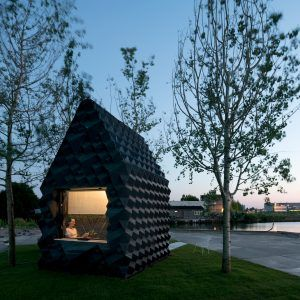 DUS+Architects+builds+3D-printed+micro+home+in+Amsterdam