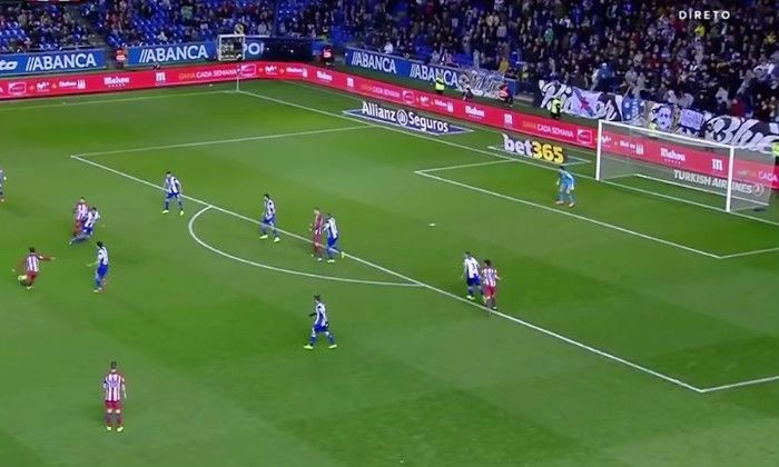 #rumors  VIDEO: Manchester United transfer target Antoine Griezmann scores stunning long distance effort for Atletico Madrid