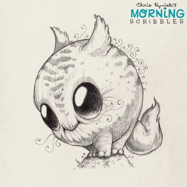 Happy Monday!  #morningscribbles | 출처: CHRIS RYNIAK
