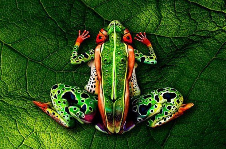 Het naakte lichaam an sich is wat ons betreft een prima kunstwerk, maar een likje verf op tijd en stond kan zeker geen kwaad. De dames in deze fotospecial...