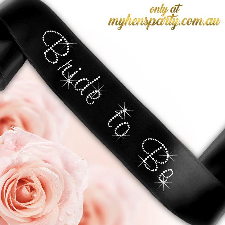 Bride To Be Sash - Diamante