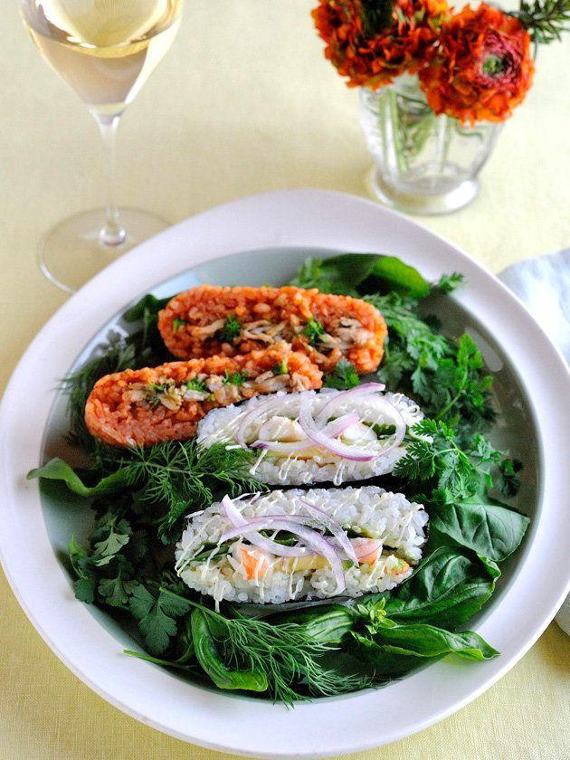 【ELLE a table】洋風おにぎらず 2種レシピ|エル・オンライン