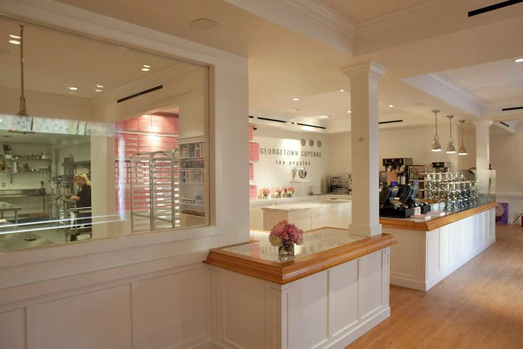 Stunning cupcake shop aesthetics: Inside Georgetown Cupcake, Opening Sat with Freebies - First Look - Eater LA