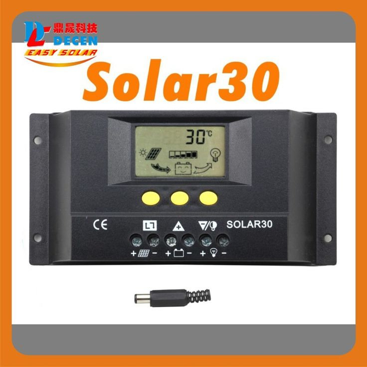 Solar30  30A  LCD Solar Charge Controller 12V 24V PV panel Battery Charger Controller Solar system Home indoor use 2014 New #Affiliate