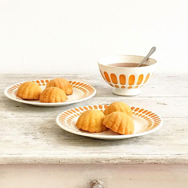 Cakes in the city | Madeleines coquilles